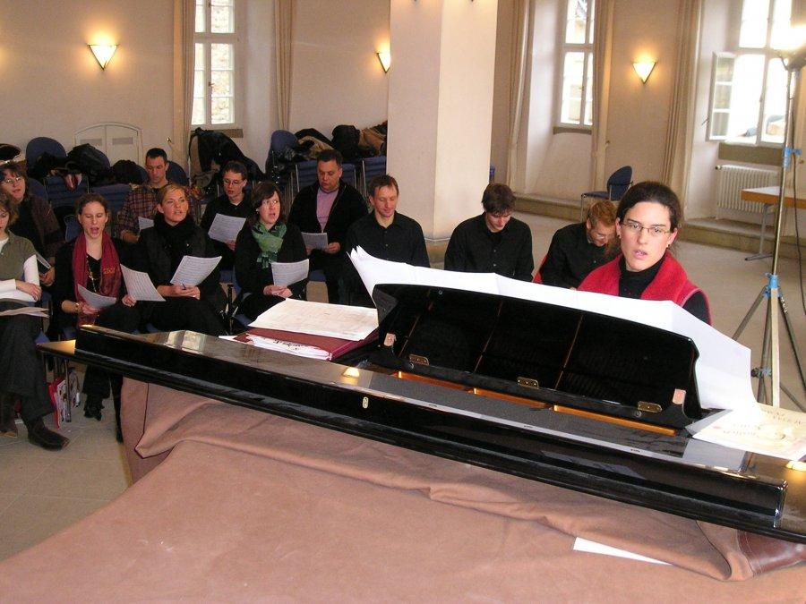 2006-02-18 und 02-19 Junge Chorgemeinschaft Probenwochenende Weikersheim 022