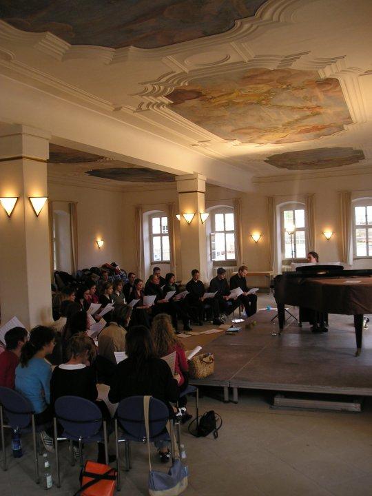 2006-02-18 und 02-19 Junge Chorgemeinschaft Probenwochenende Weikersheim 024