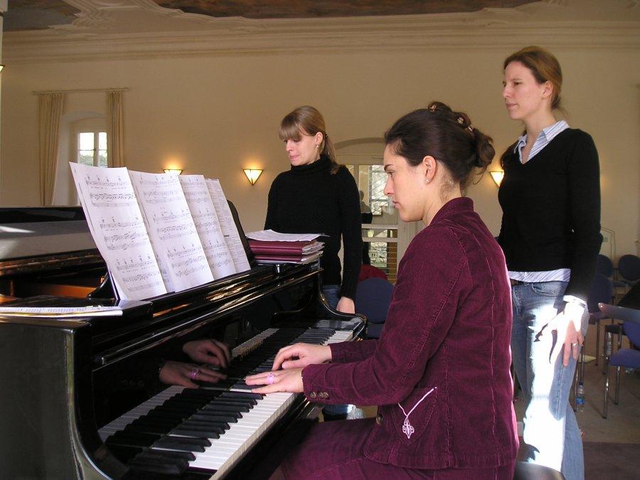 2006-02-18 und 02-19 Junge Chorgemeinschaft Probenwochenende Weikersheim 028